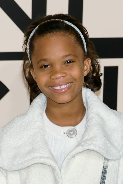 Actress Quvenzhane Wallis is 11 today