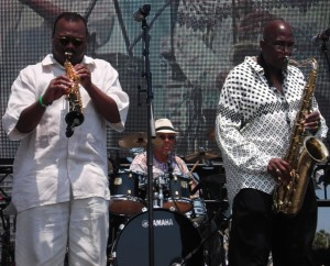 Ronnie Laws,Al Williams and Wilton Felder:Photo Credit,Ricky Richardson