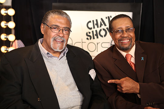Rosey Grier & Ron Brewington