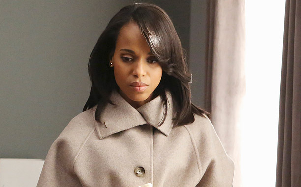 "Scandal star Kerry Washington in the episode ""Whiskey Tango Foxtrot"""