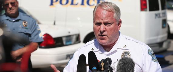 Ferguson, MO police chief Thomas jackson