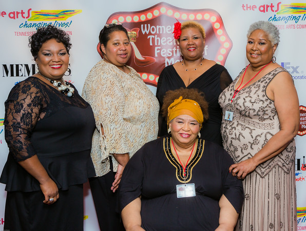 WTFM Producers L-R:  Tawanna French, Sherronda Johnson, Olivia Johnson, Karen Moore, Ruby O'Gray (center)