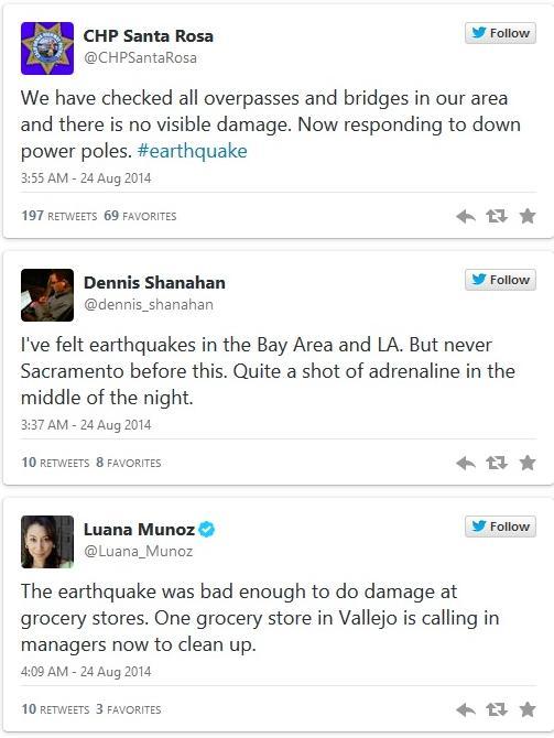 bay area 6.0 quake tweets