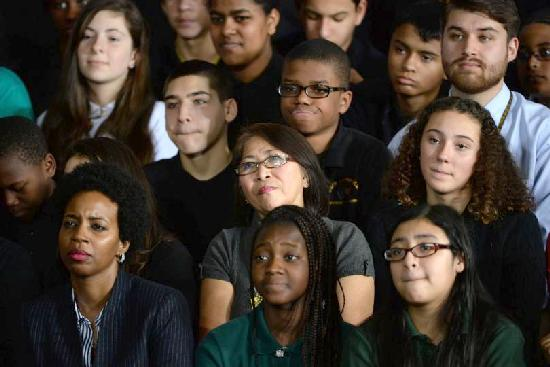 black & hispanic students