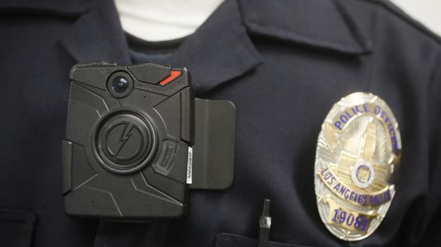 body cam on cop