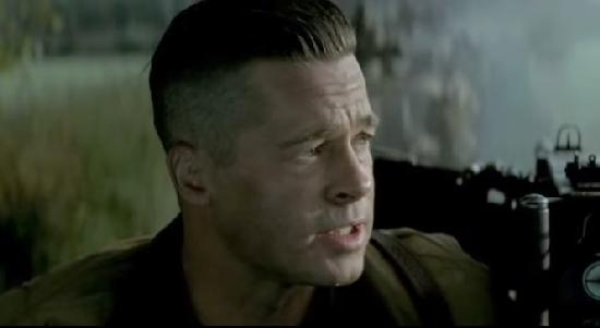 Brad Pitt Fury Movie Q...