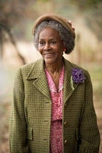 "Cicely Tyson in the Lifetime Original Movie ""The Trip to Bountiful"""