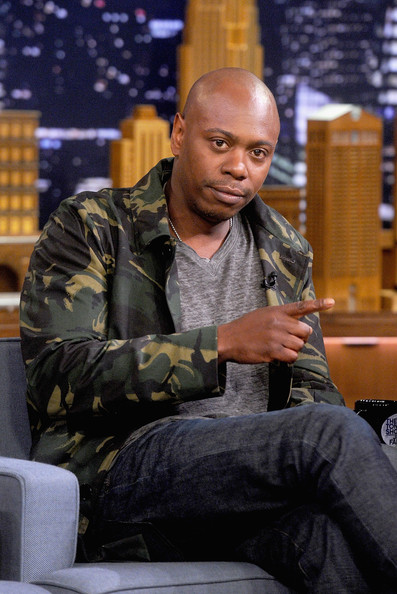"Dave Chappelle during an interview on ""The Tonight Show Starring Jimmy Fallon"" at Rockefeller Center on June 11, 2014 in New York City"