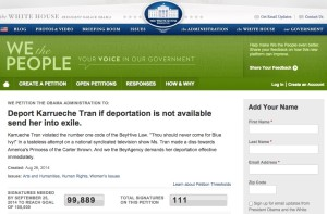 deport karrueche petition