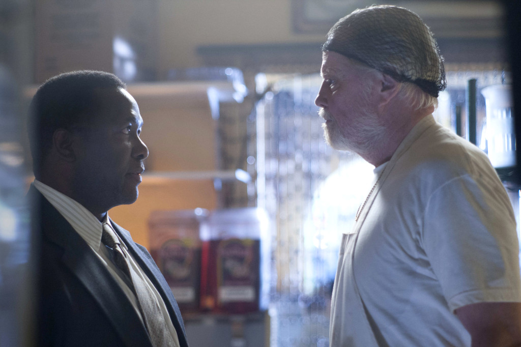 "Wendell Pierce as Mr. Keith and Jon Voight as Mickey Donovan in Showtime's ""Ray Donovan"" (Season 2, Episode 3)"