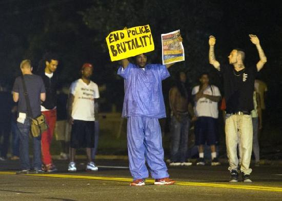 ferguson - end police brutality
