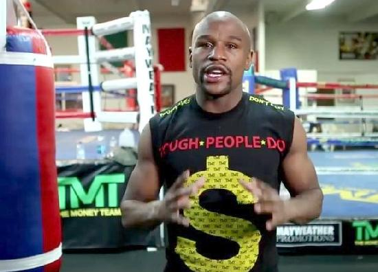 Floyd Mayweather Almost Flawlessly Reads a Promo
