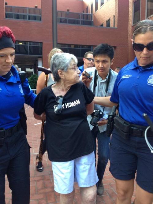 hedy epstein arrest