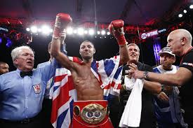 boxing match winner in carson, california
