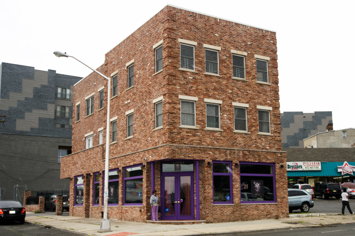 Diamondz N Da Ruff, the new restaurant owned by Jay Z's mom and two of her friends, sits on a nondescript block in Newark, NJ (Aug 12, 2014)