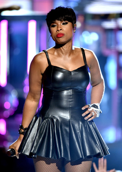 Singer/actress Jennifer Hudson performs onstage during the BET AWARDS '14 at Nokia Theatre L.A. LIVE on June 29, 2014 in Los Angeles