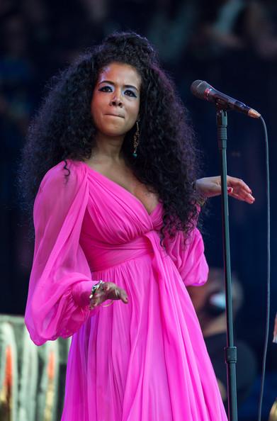 Singer Kelis is 35 today