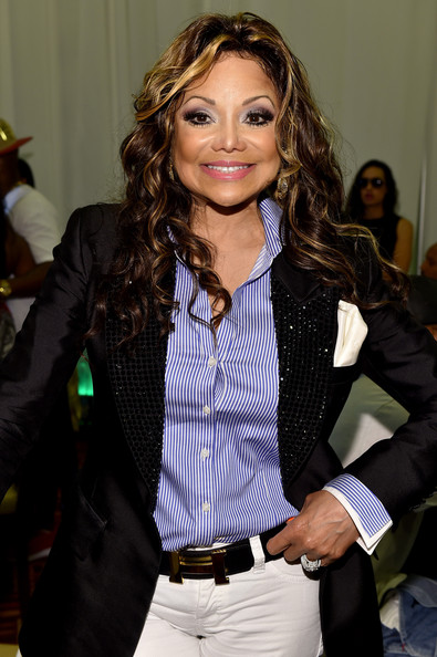 La Toya Jackson attends day 1 of the Radio Broadcast Center during the BET Awards '14 on June 27, 2014 in Los Angeles