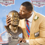 Michael Strahan Honored with Pro Football Hall of Fame Induction (Watch)