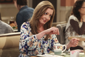 "Allison Janney in the CBS comedy ""Mom"""