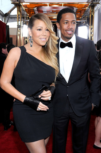Mariah Carey and TV personality Nick Cannon attend the 20th Annual Screen Actors Guild Awards at The Shrine Auditorium on January 18, 2014 in Los Angeles, California