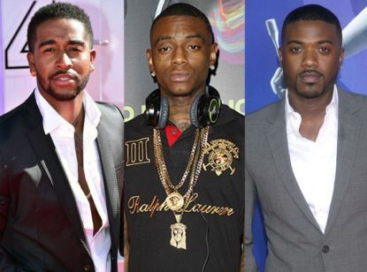 omarion, soulja boy and ray j