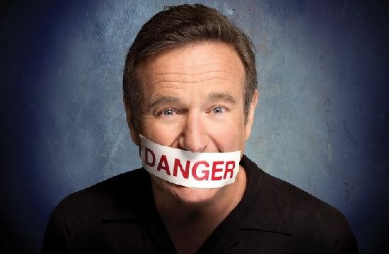 robin wiliams - danger
