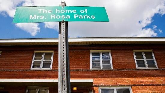 rosa parks old apt