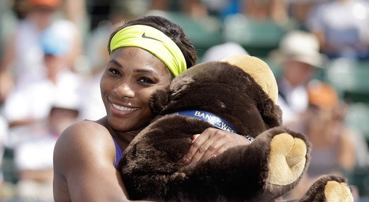 serena williams bank west