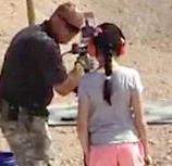 shooting instructor & 9 yr old girl1