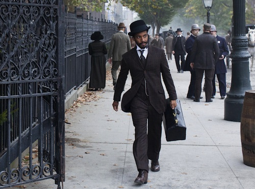 """Andre Holland as Dr. Algernon Edwards in the Cinemax series """"The Knick"""" - a look at the professional and personal lives of the staff at New York's Knickerbocker Hospital during the early part of the twentieth century."""