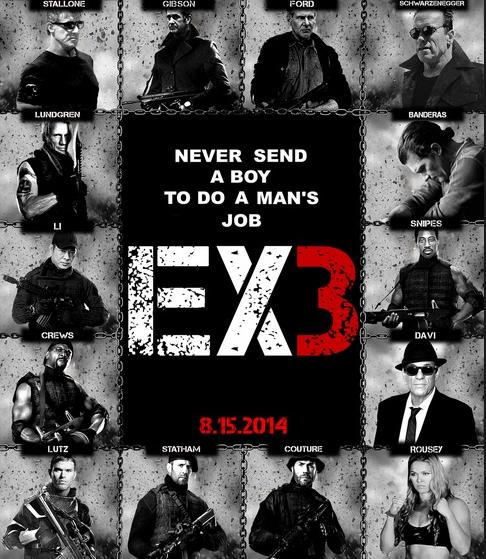 the x 3 (the expendables 3)