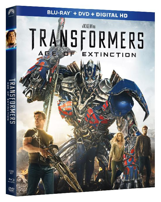 'Transformers: Age of Distinction' Ready for Debut on Blu-ray 3D, Blu-ray, DVD & VOD