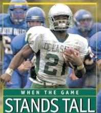 when the game stands tall - book cover
