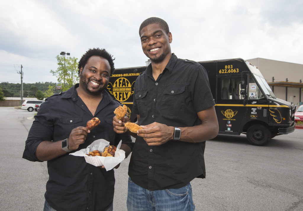 Ramone Dickerson and Corey Simmons in Columbia, S.C. on Wednesday, July 30, 2014.