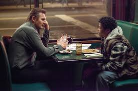 Universal Pictures' A Walk Among The Tombstone stars Liam Neeson and Brian Bradley.