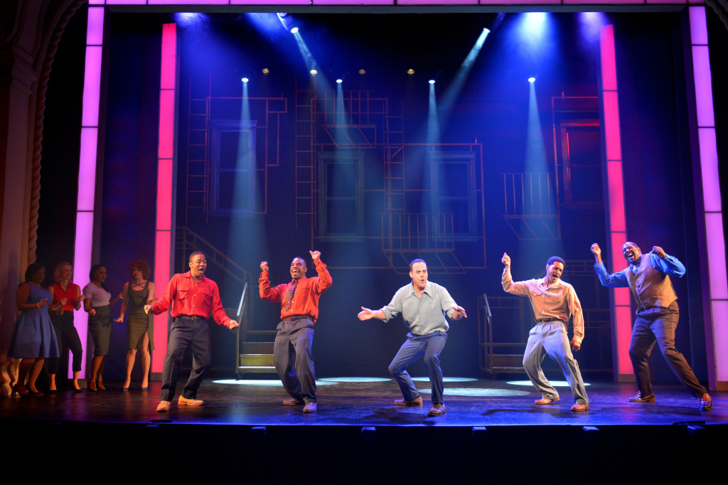 The sizzling cast of Smokey Joe's Café from The Pasadena Playhouse's 2013/2014 season celebrates Jeffrey Polk's nomination for Best Director of a Musical for 2014 NAACP Theatre Awards