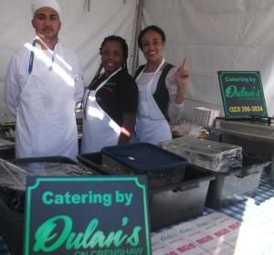 Chef Dessi Rivero, Jasmine Jacinthe and Dapne Smith: Photo Credit, Ricky Richardson