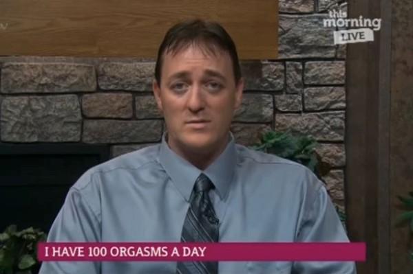 Dale Decker, 100 orgasms a day