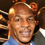 Mike Tyson Comforts Man after Motorcycle Crash