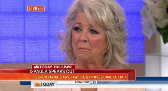 Paula Deen Today Show
