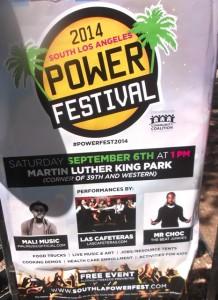 Power Festival Poster: Photo Credit, Ricky Richardson