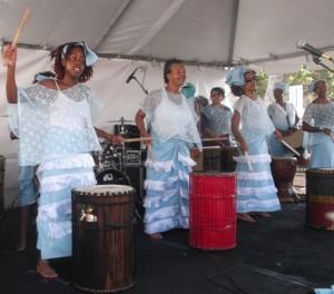 S.H.I.N.E. Mawusi Women's African Dance & Drum Troupe