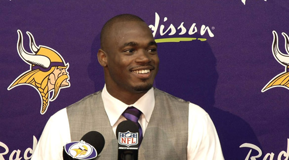 Adrian Peterson Thinks He'll Play Again for the Minnesota Vikings
