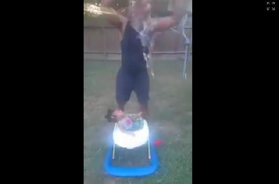 Grandpa's Dousing of 10-Month-Old with Ice Water Angers Father