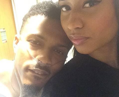 Nicki Minaj Visits August Alsina In Hospital