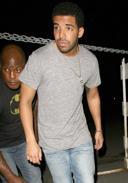 Singer/rapper Drake has a night out at Hooray Henry's nightclub in West Hollywood, California on July 18, 2014