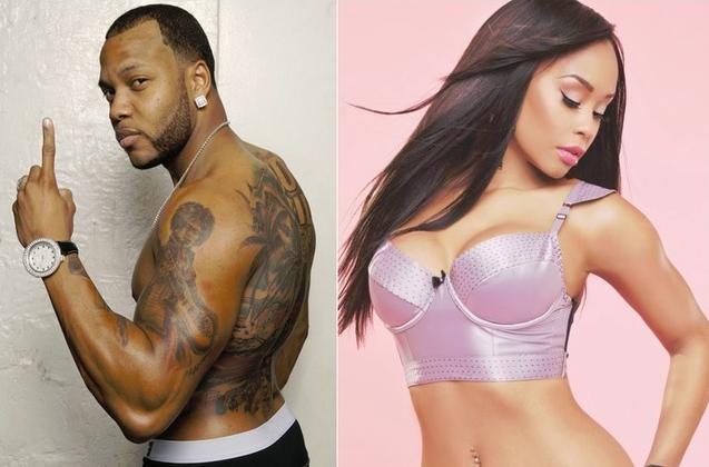 flo rida & georgette williams