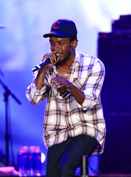 Recording artist Kendrick Lamar performs on the Marilyn Stage during day 1 of the 2014 Budweiser Made in America Festival at Los Angeles Grand Park on August 30, 2014 in Los Angeles, California