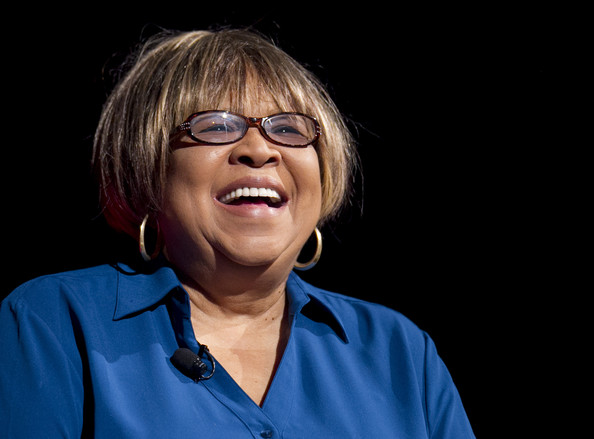 Mavis Staples speaks at the Civil Rights Summit at the LBJ Presidential Library April 8, 2014 in Austin, Texas